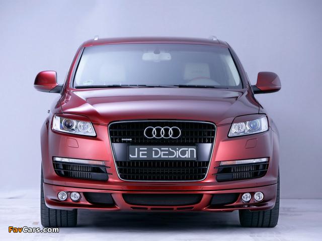 Je Design Audi Q7 Street Rocket 2007 wallpapers (640 x 480)