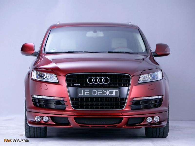 Je Design Audi Q7 Street Rocket 2007 wallpapers (800 x 600)