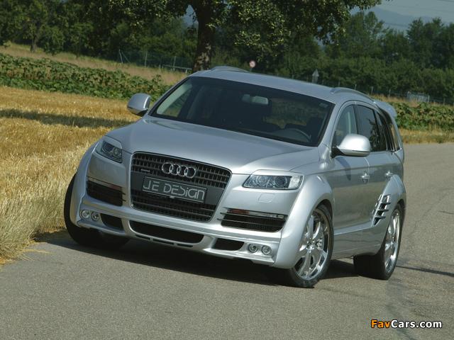 Images of Je Design Audi Q7 Street Rocket 2007 (640 x 480)