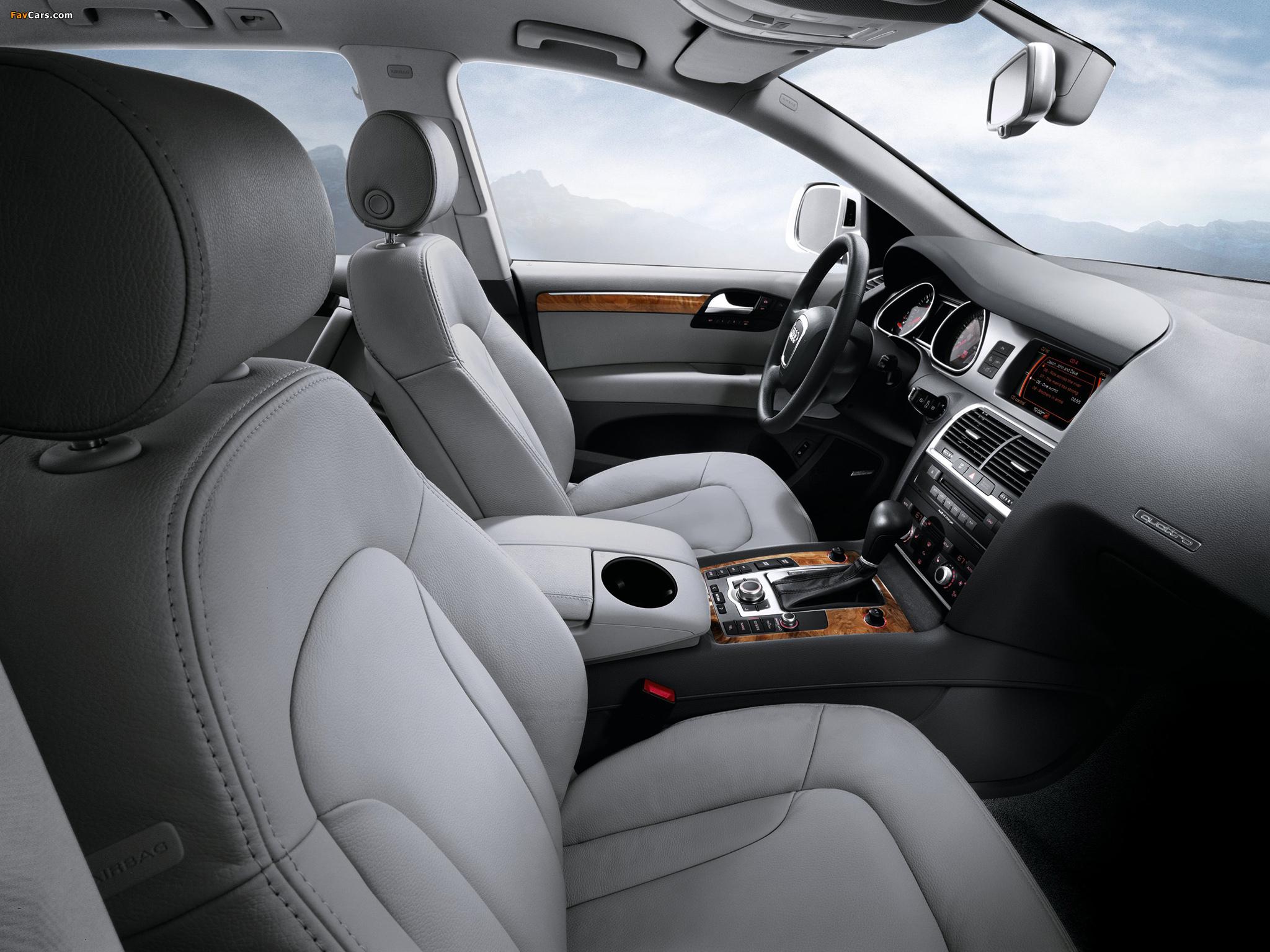 Photos of Audi Q7 3.6 quattro US-spec 2008–10 (2048 x 1536)