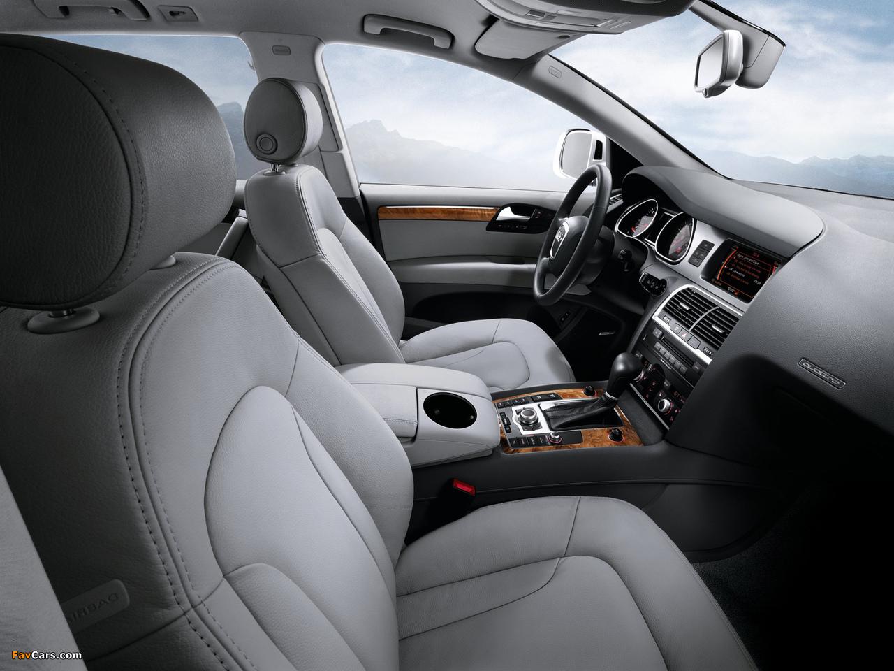 Photos of Audi Q7 3.6 quattro US-spec 2008–10 (1280 x 960)