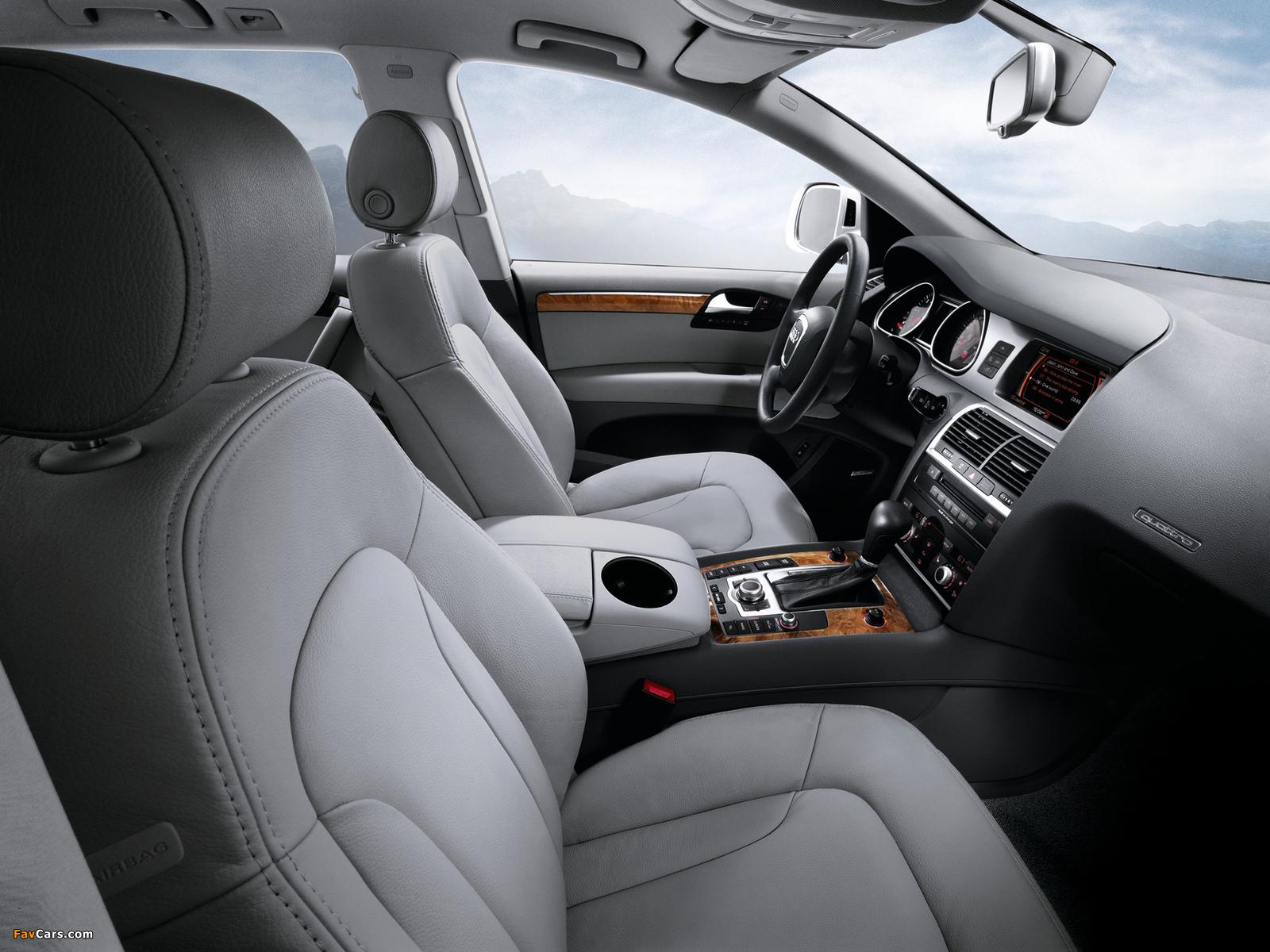 Photos of Audi Q7 3.6 quattro US-spec 2008–10 (1600 x 1200)