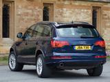 Pictures of Audi Q7 4.2 TDI quattro S-Line UK-spec 2006–09