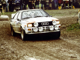 Audi Quattro Group 4 Rally Car (85) 1981–82 images
