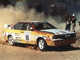 Audi Quattro Group B Rally Car (85) 1983–86 images