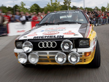 Audi Quattro Group B Rally Car (85) 1983–86 photos