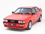 Audi Quattro UK-spec (85) 1987–91 photos