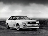 Audi Quattro UK-spec (85) 1987–91 pictures
