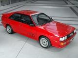 Audi Quattro UK-spec (85) 1987–91 wallpapers