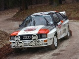 Images of Audi Quattro Group B Rally Car (85) 1983–86
