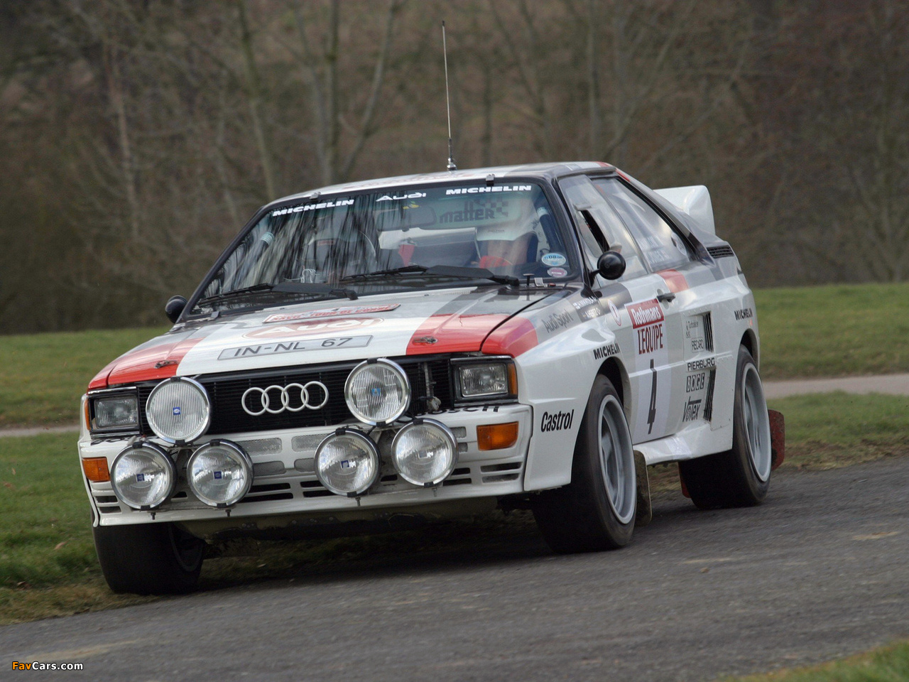 Images of Audi Quattro Group B Rally Car (85) 1983–86 (1280 x 960)