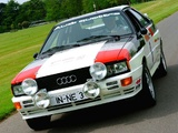 Photos of Audi quattro Rally Car (Typ 85) 1980