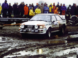 Photos of Audi Quattro Group 4 Rally Car (85) 1981–82
