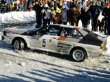 Pictures of Audi Quattro Group 4 Rally Car (85) 1981–82