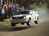 Pictures of Audi Quattro Group B Rally Car (85) 1983–86