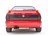 Pictures of Audi Quattro UK-spec (85) 1987–91