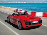 Audi R8 V10 Spyder 2009 photos