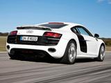 Audi R8 V10 2009–12 pictures