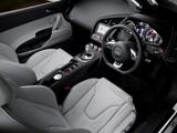 Audi R8 V10 Spyder AU-spec 2010–12 images