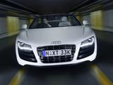 Audi R8 V10 Spyder AU-spec 2010–12 photos