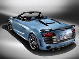 Audi R8 GT Spyder 2011–12 images