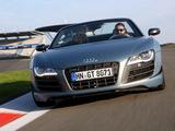 Audi R8 GT Spyder 2011–12 photos