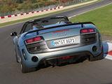 Audi R8 GT Spyder 2011–12 wallpapers