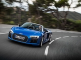 Audi R8 Spyder V10 2016 wallpapers