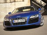 Images of Audi R8 V10 AU-spec 2009–12