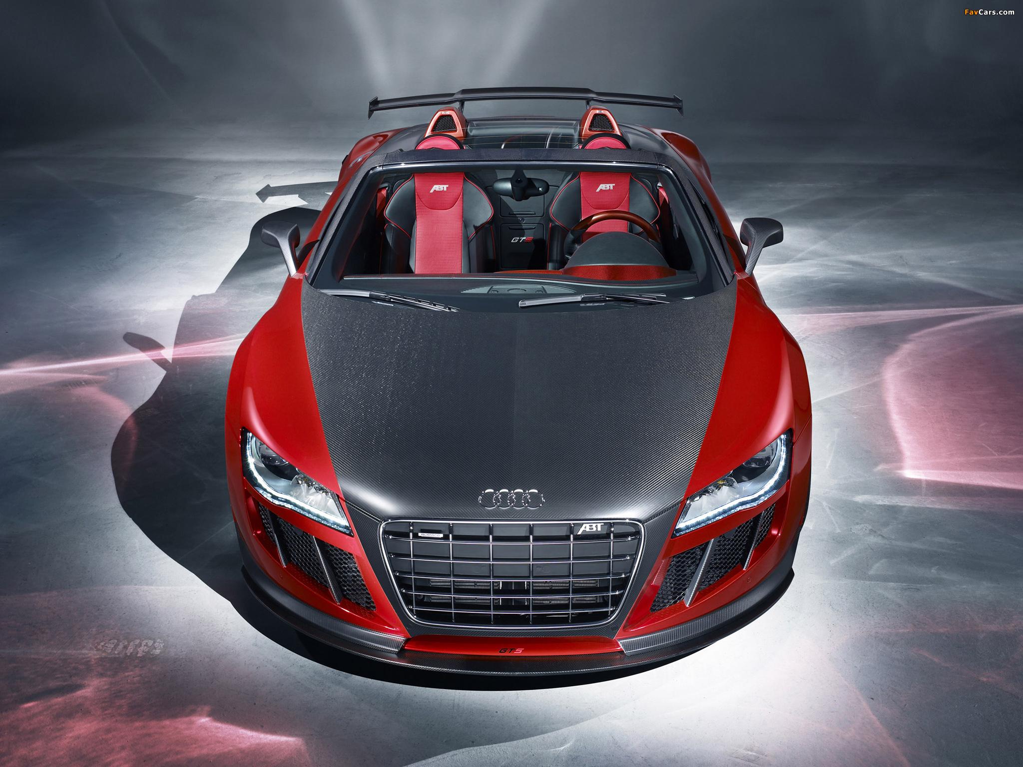 Audi ABT Red and Carbon загрузить