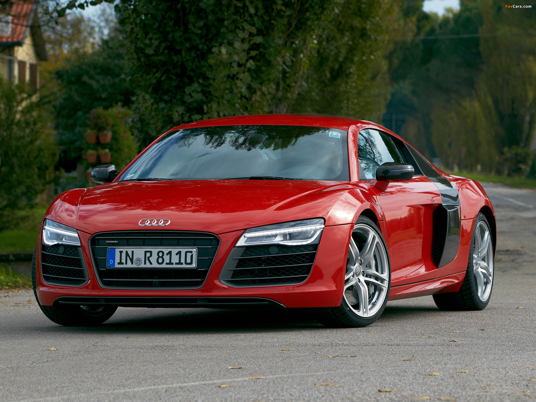 Images Of Audi R8 V10 2012 2048x1536