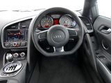 Photos of Audi R8 V10 UK-spec 2009–12