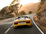 Photos of Audi R8 Spyder V10 2016