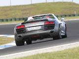 Pictures of Audi R8 V10 Spyder AU-spec 2010–12