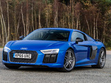 Pictures of Audi R8 V10 Plus UK-spec 2015