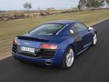 Audi R8 V10 AU-spec 2009–12 wallpapers