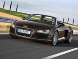 Audi R8 Spyder 2010–12 wallpapers
