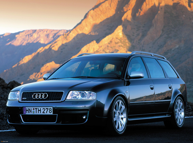 Audi RS 6 Avant (4B,C5) 2002-04 pictures (2835x2102)