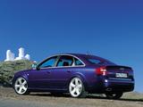 Audi RS 6 Sedan (4B,C5) 2002–04 wallpapers