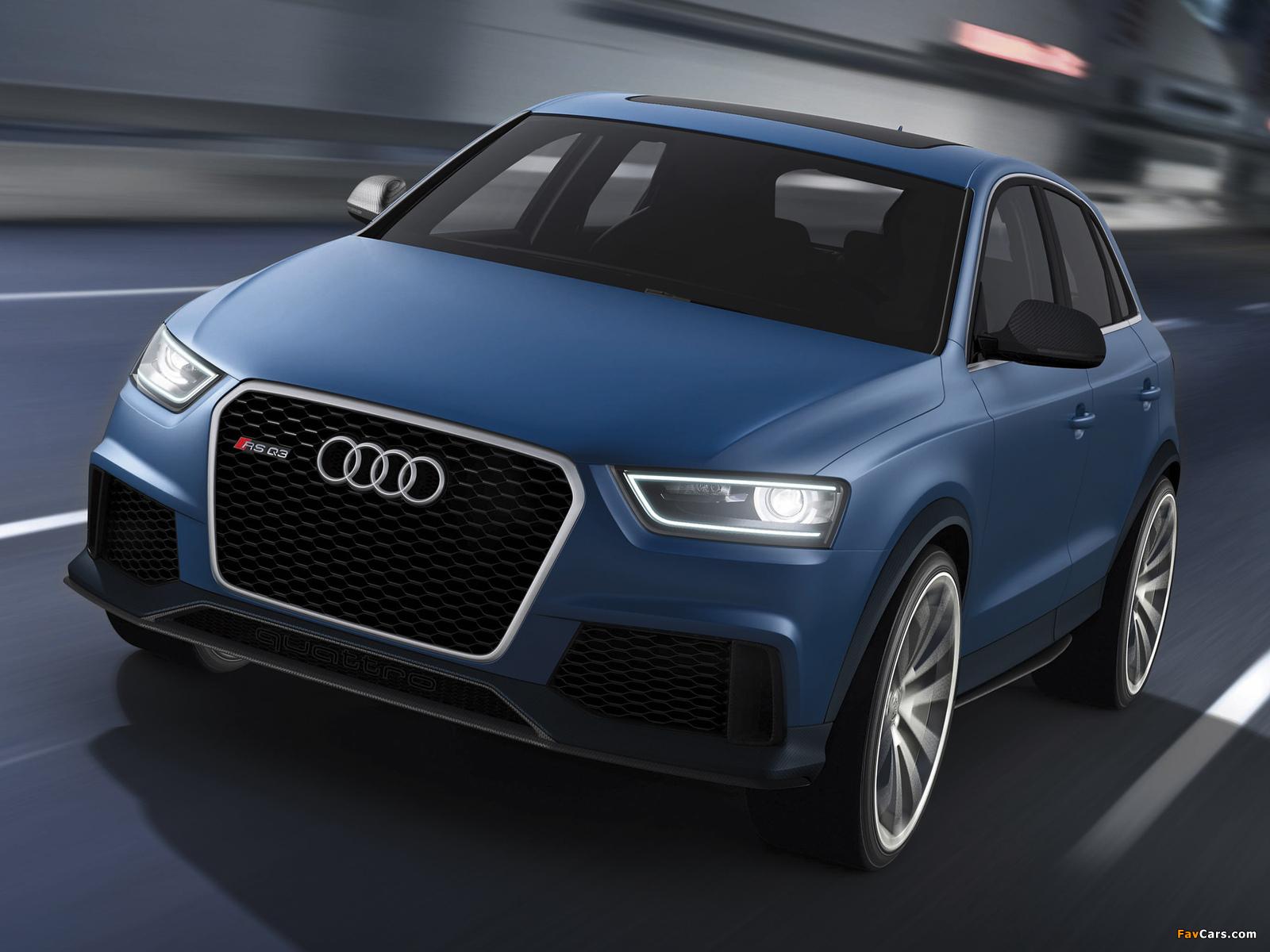 Audi RS Q3 Concept 2012 images (1600 x 1200)