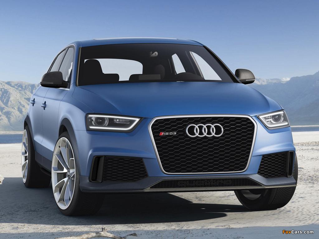 Audi RS Q3 Concept 2012 images (1024 x 768)