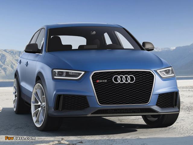 Audi RS Q3 Concept 2012 images (640 x 480)