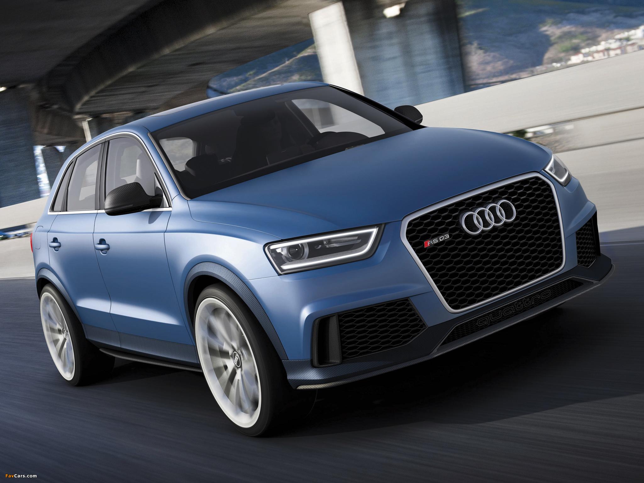 Audi RS Q3 Concept 2012 images (2048 x 1536)