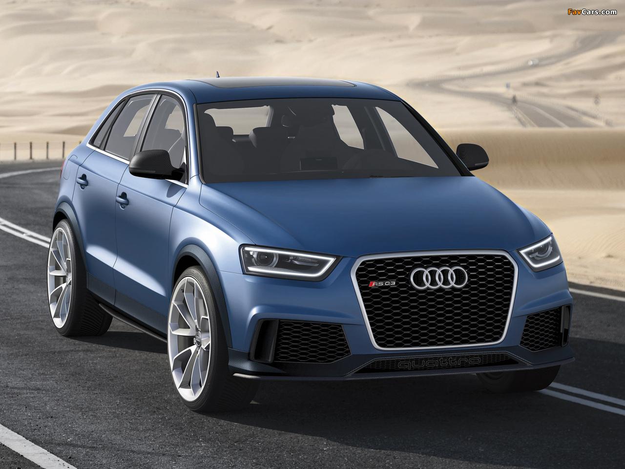 Audi RS Q3 Concept 2012 images (1280 x 960)