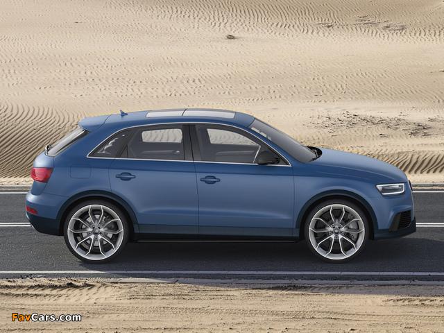 Audi RS Q3 Concept 2012 photos (640 x 480)