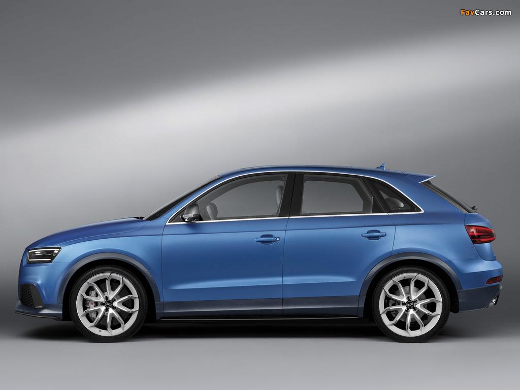 Audi RS Q3 Concept 2012 pictures (1024 x 768)