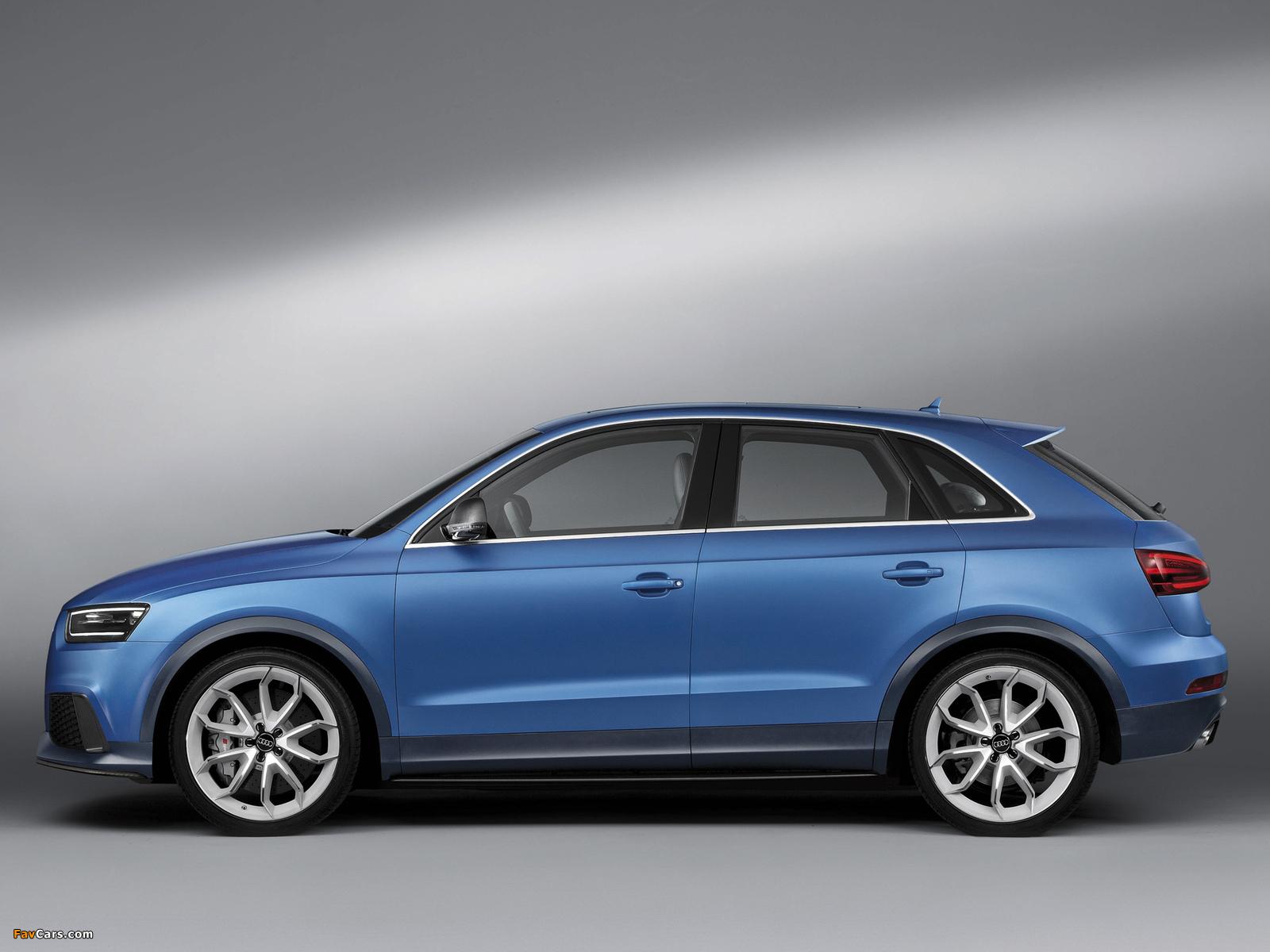 Audi RS Q3 Concept 2012 pictures (1600 x 1200)
