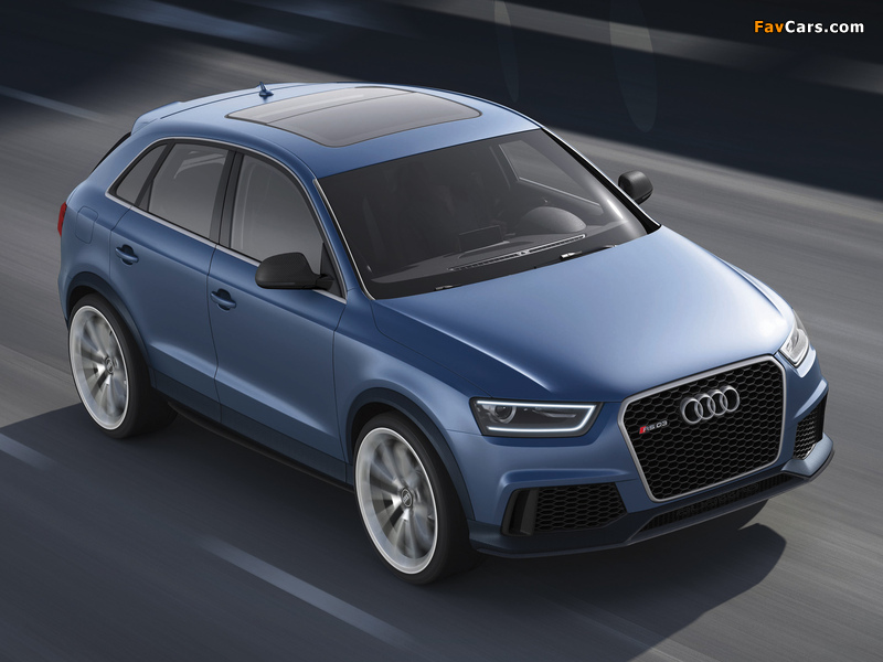 Audi RS Q3 Concept 2012 wallpapers (800 x 600)