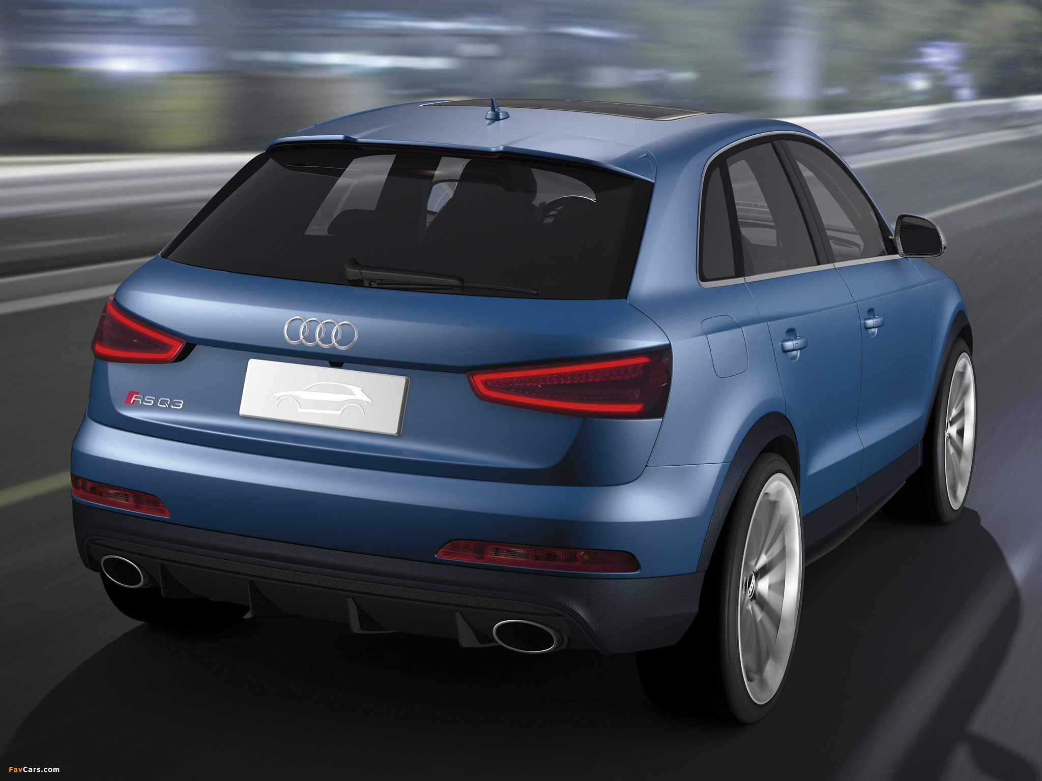 Audi RS Q3 Concept 2012 wallpapers (2048 x 1536)