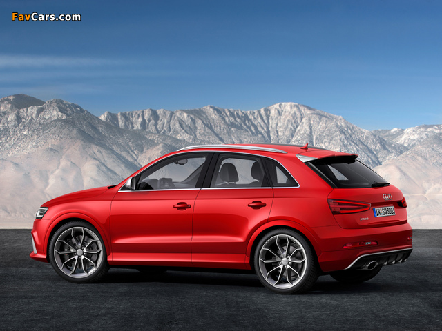 Audi RS Q3 2013 pictures (640 x 480)